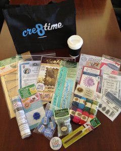 CHA Swag bag giveaway CHA 2013: Yarn Trends Report