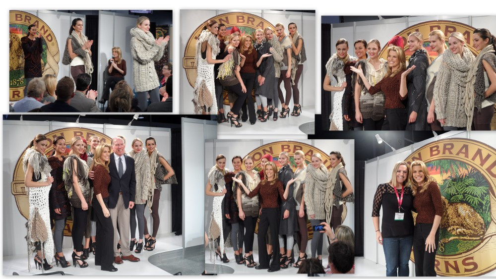 LionBrand FashionShow1 CHA 2013: Yarn Trends Report