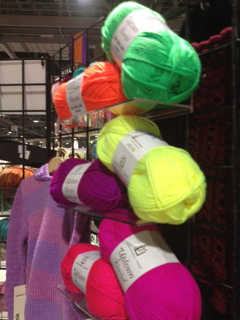 Neon Yarn from Universal Yarns