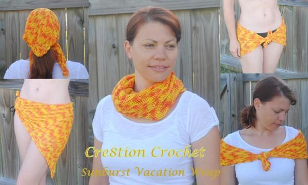 1 cover sunburst vacation scarf 7 Best Crochet Blogs