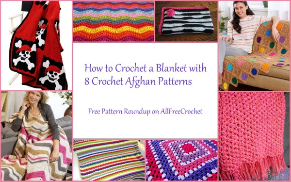 How to Crochet a Blanket with 8 Crochet Afghan Patterns