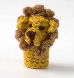 Lion Finger Puppet Craft Show Best Sellers: Knit and Crochet