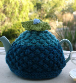 flower power tea cozy 1  Craft Show Best Sellers: Knit and Crochet