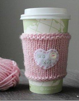 Sweet Heart Cup Cozy