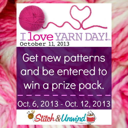 ILYD Square Celebrate I Love Yarn Day!