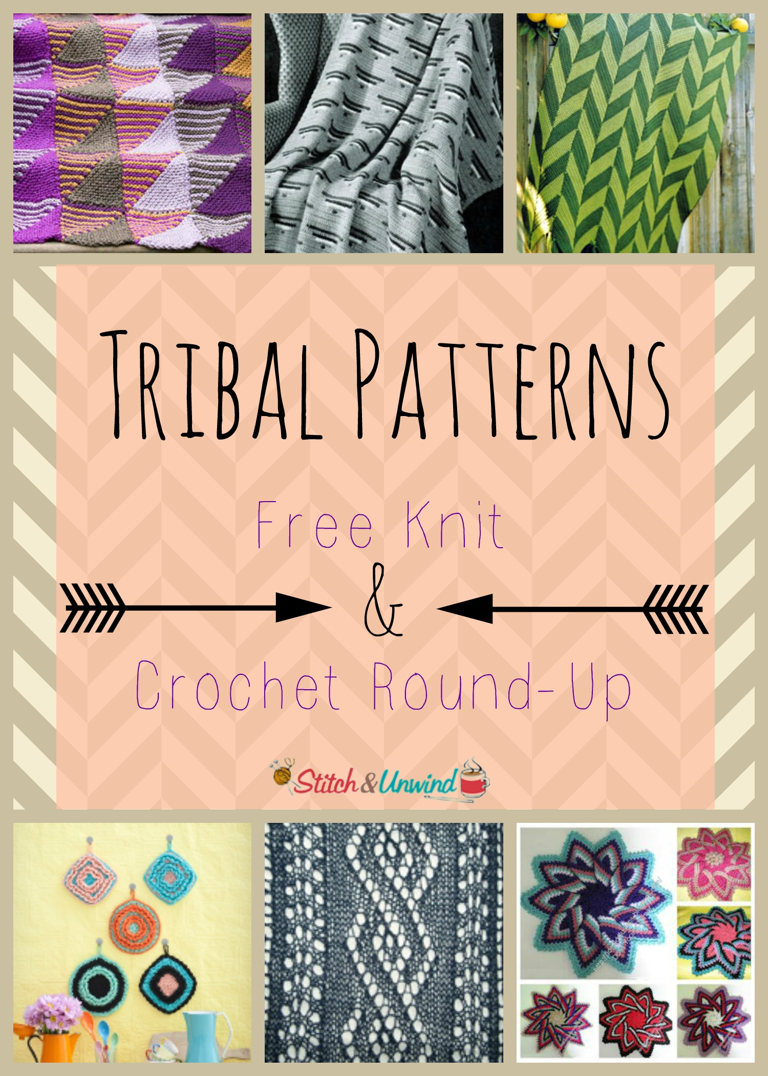 Tribal Patterns Free Knit Amp Crochet Patterns