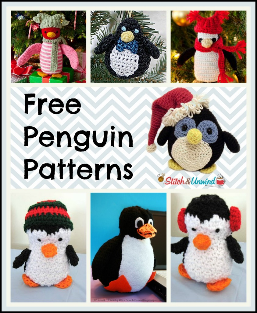 Crochet Pattern Free Penguin : March of the Yarn Penguins: Crochet & Knit a Happy Penguin ...