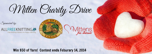 Mitten Charity Drive