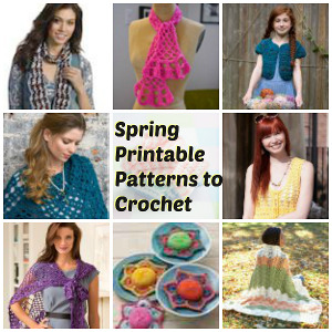 spring printable patterns2 Spectacular Spring Printable Patterns to Crochet Today