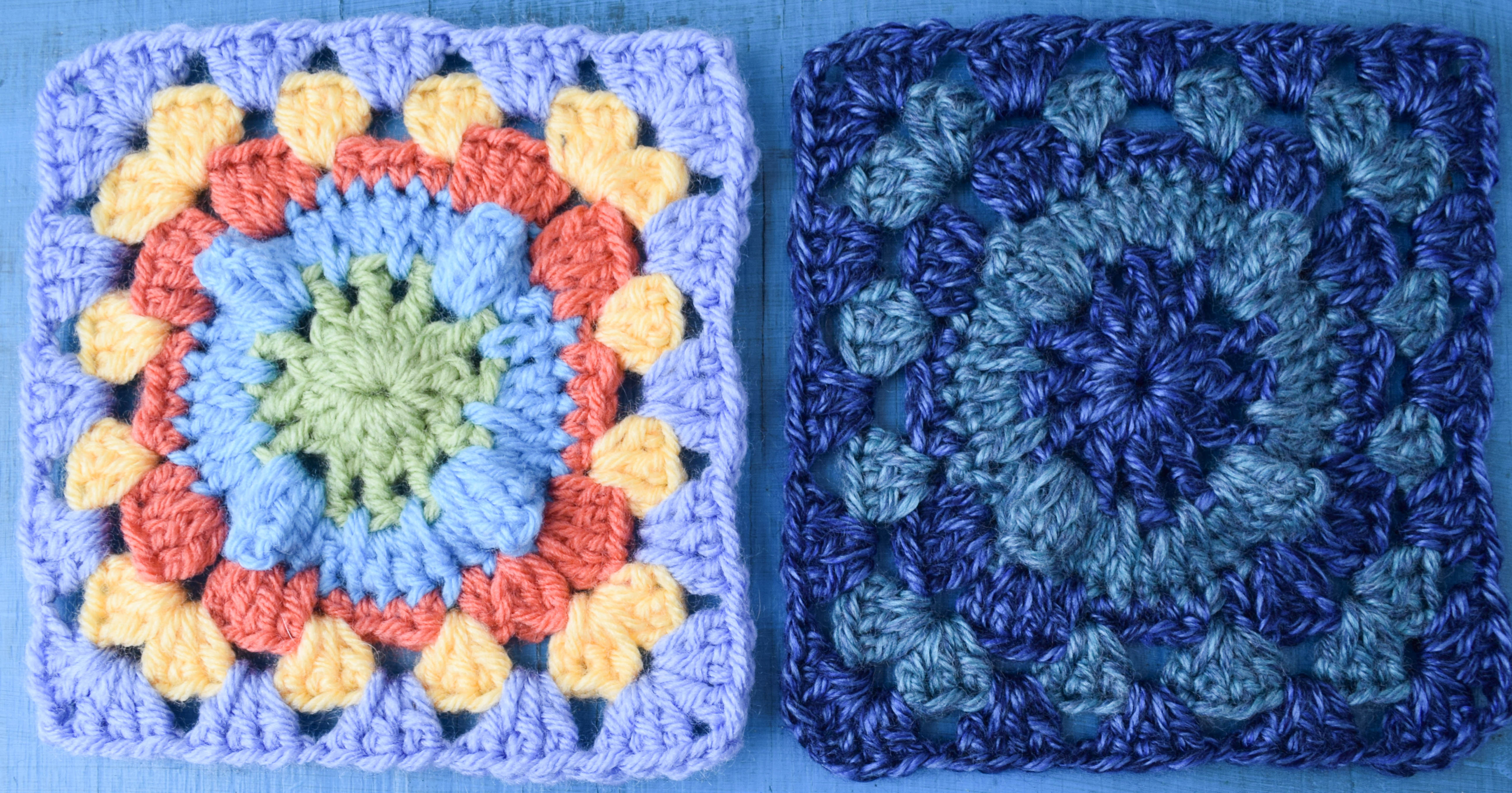 Free crochet granny square the pattern you didnt know you needed circle with popcorn granny square 1 of 3 bankloansurffo Choice Image