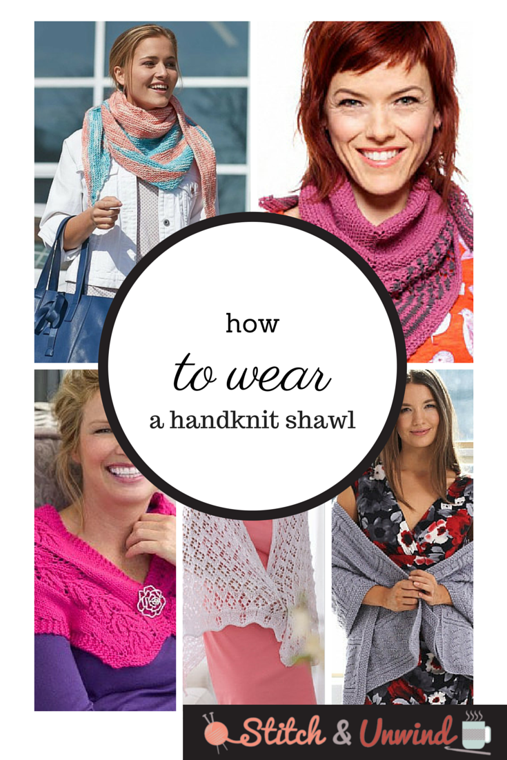 how to wear a shawl