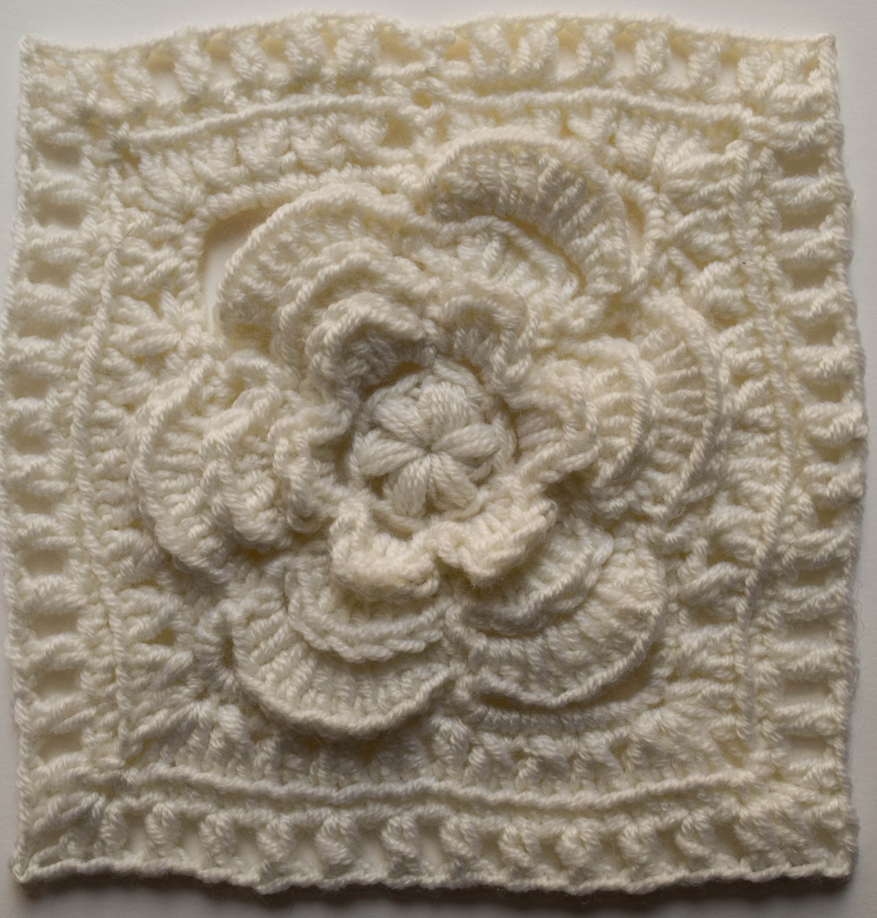 Design your own blanket using your favorite granny square patterns mayapple flower square 2 marie segares colorful granny square free crochet pattern bankloansurffo Image collections