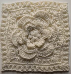 Mayapple Flower Square