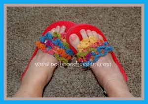 Crocodile-Stitch-Flip-Flop-Toppers