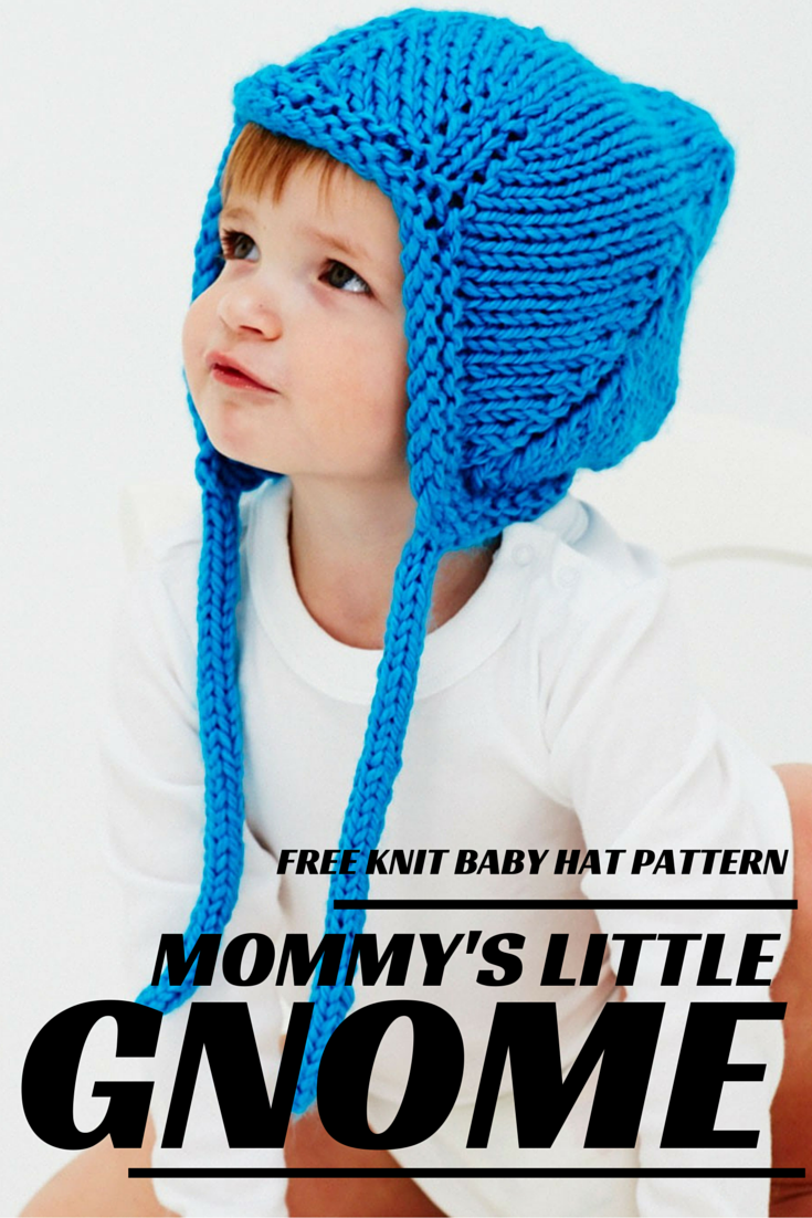 Baby Gnome Hat Knitting Pattern : Mommy s Little Gnome Knit Baby Hat Pattern