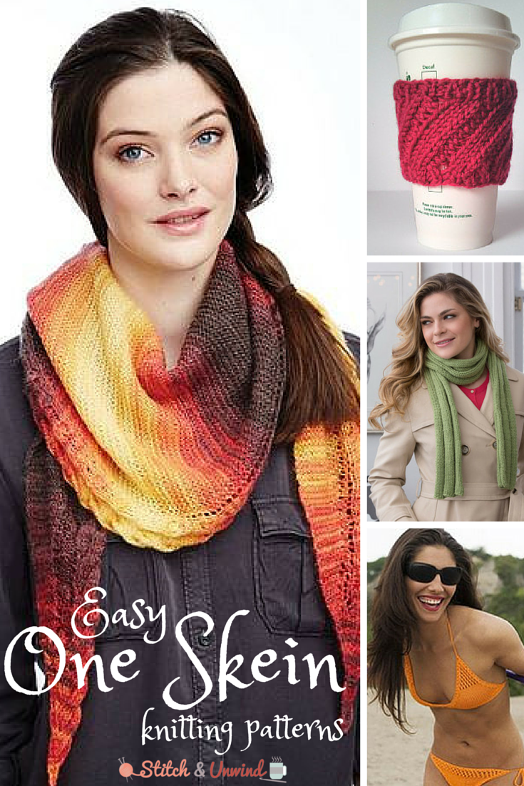 One Skein Knit Patterns : The Quickest One Skein Patterns You ll Ever Knit