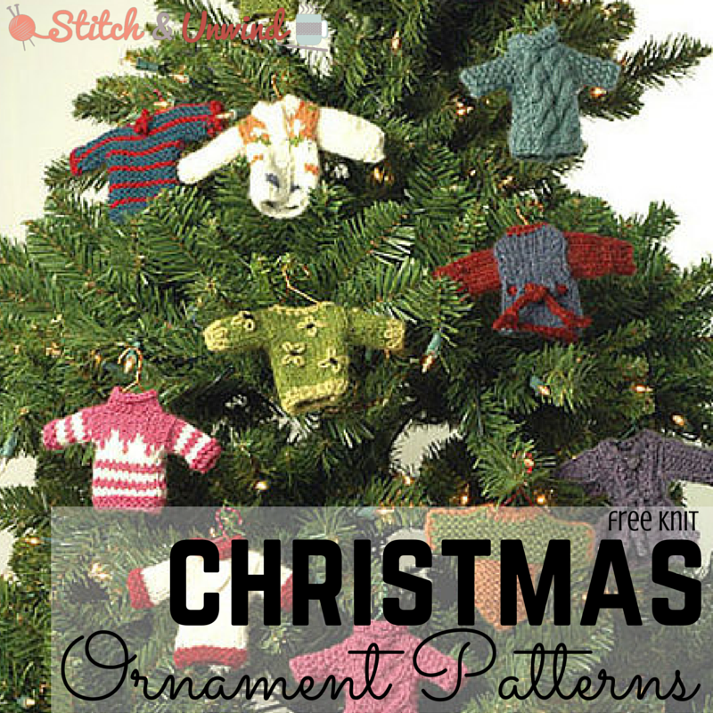 Christmas In July Homemade Christmas Decorations To Knit Stitch
