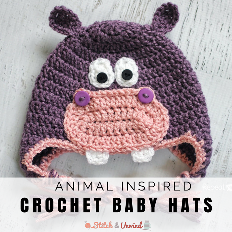 Tippy Top Toppers! 16 Animal-Inspired Free Crochet Baby ...