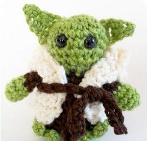 Little Yoda Crochet Tutorial