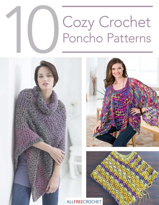 10 Cozy Crochet Poncho Patterns