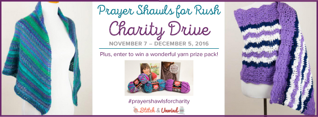 Prayer Shawls for Rush Charity Drive