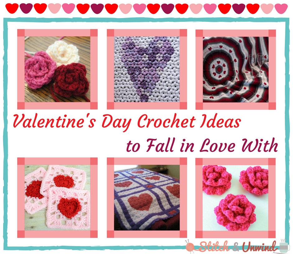 11+ Valentine's Day Crochet Ideas to Fall in Love With