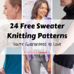 24 Free Sweater Knitting Patterns