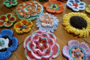 Crochet Flowers by The Crochet Crowd