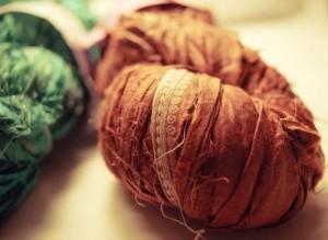 Recycled Silk Sari Ribbon