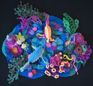Freeform Crochet Sea