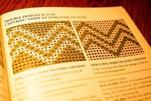 Interlocking Crochet - Chevron Designs