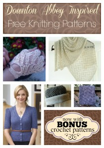Downton Abbey Inspired Knitting Patterns