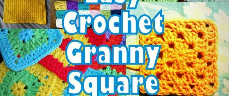 It's So Easy! 46 Easy Crochet Granny Square Patterns