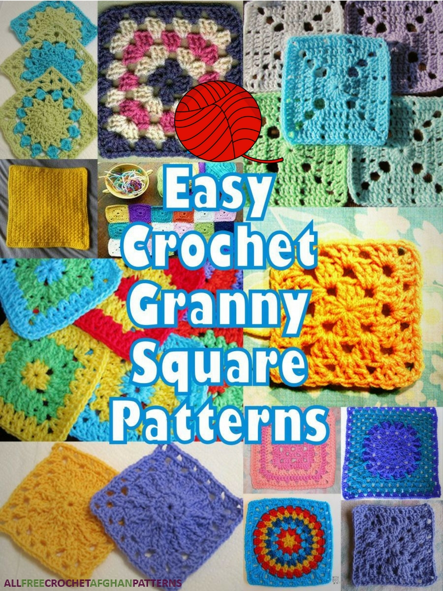 It\'s So Easy! 46 Easy Crochet Granny Square Patterns - Stitch and Unwind
