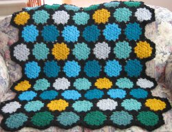 Stained Glass Afghan Free Pattern