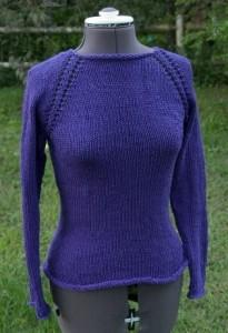 Free knitting pattern: One Week Sweater