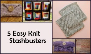 5 Knit Stashbusters