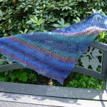 Ocean Sunrise Shawl