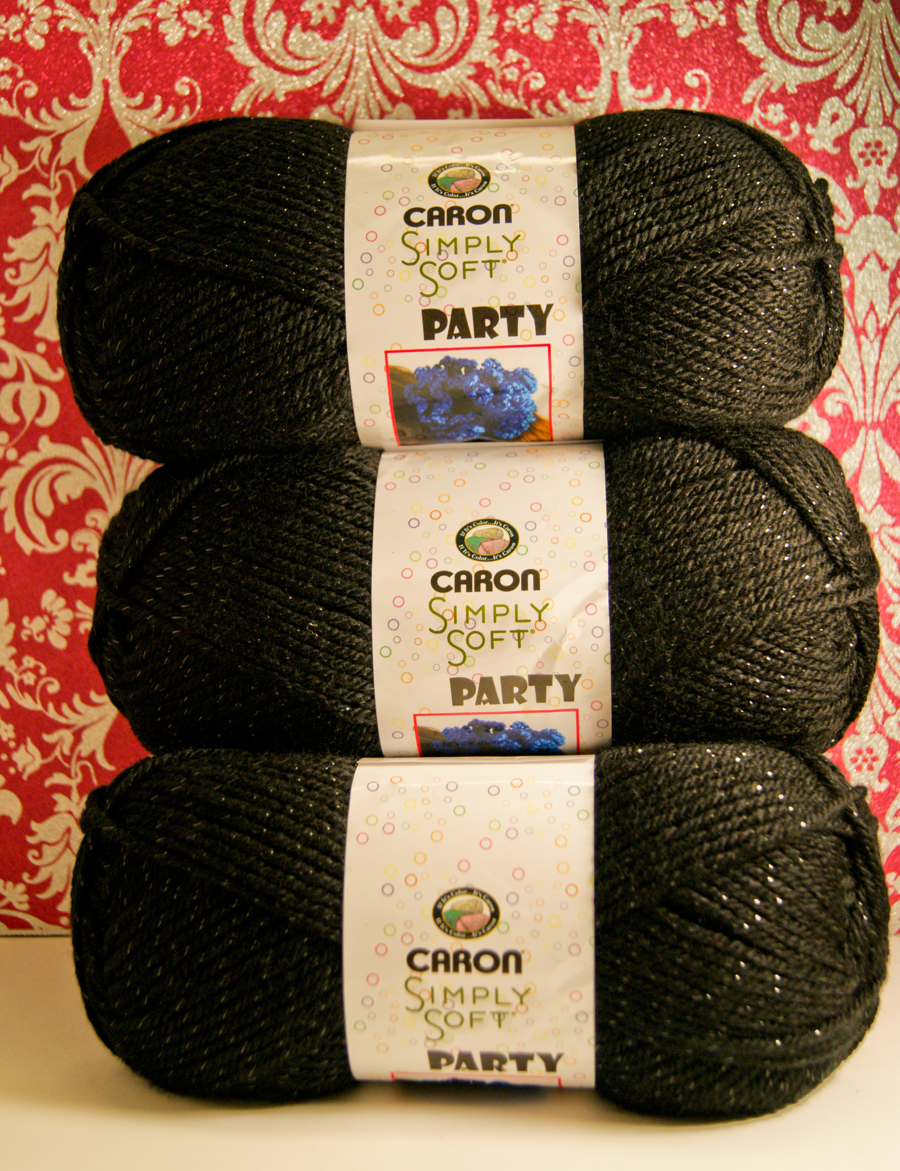 Caron Simply Soft Party Yarn Stitch And Unwind