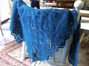 Knit Summer Shawl