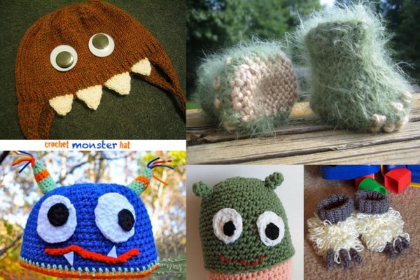 Monster Crafts Monster Accessory Patterns Stitch And Unwind