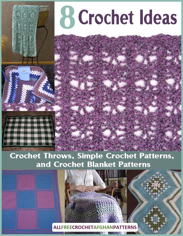 8 Crochet Ideas for Crochet Throws 2