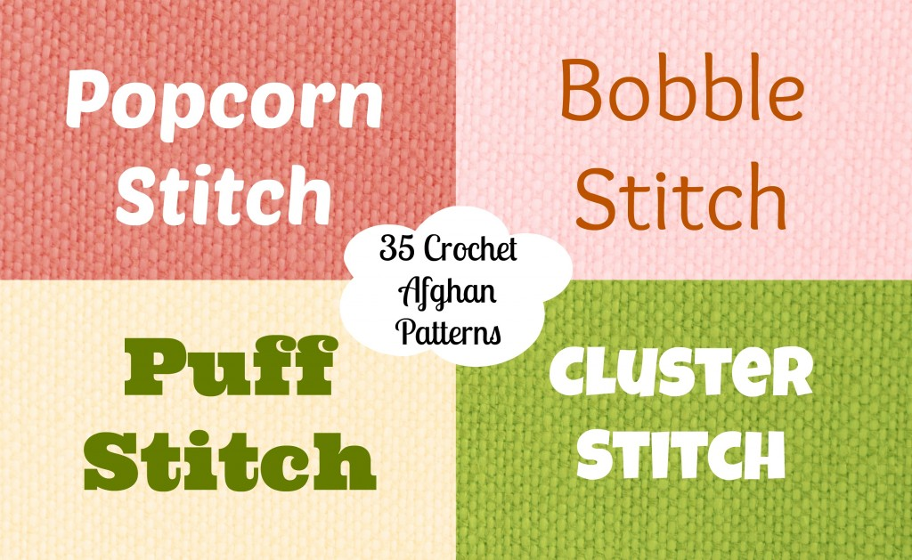 Popcorns Bobbles Puffs And Clusters Oh My Stitch And Unwind