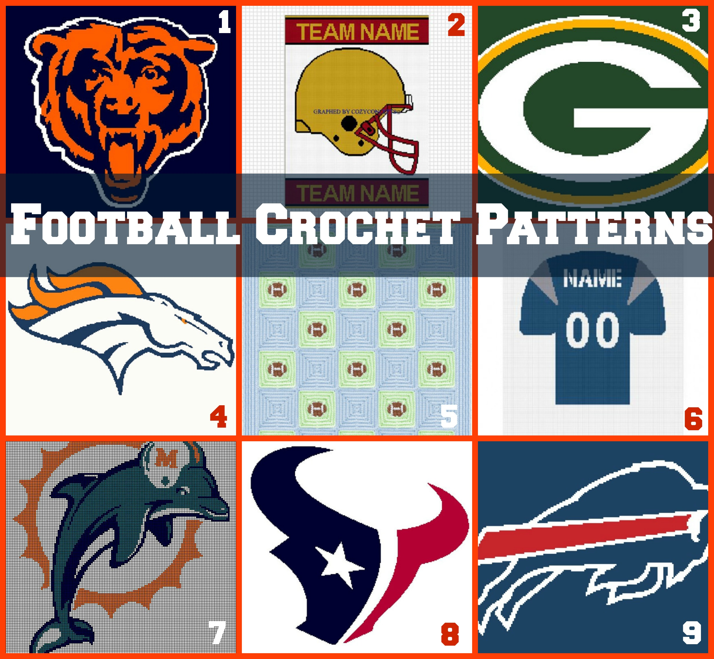 Link Love: Football Crochet Patterns - Stitch and Unwind