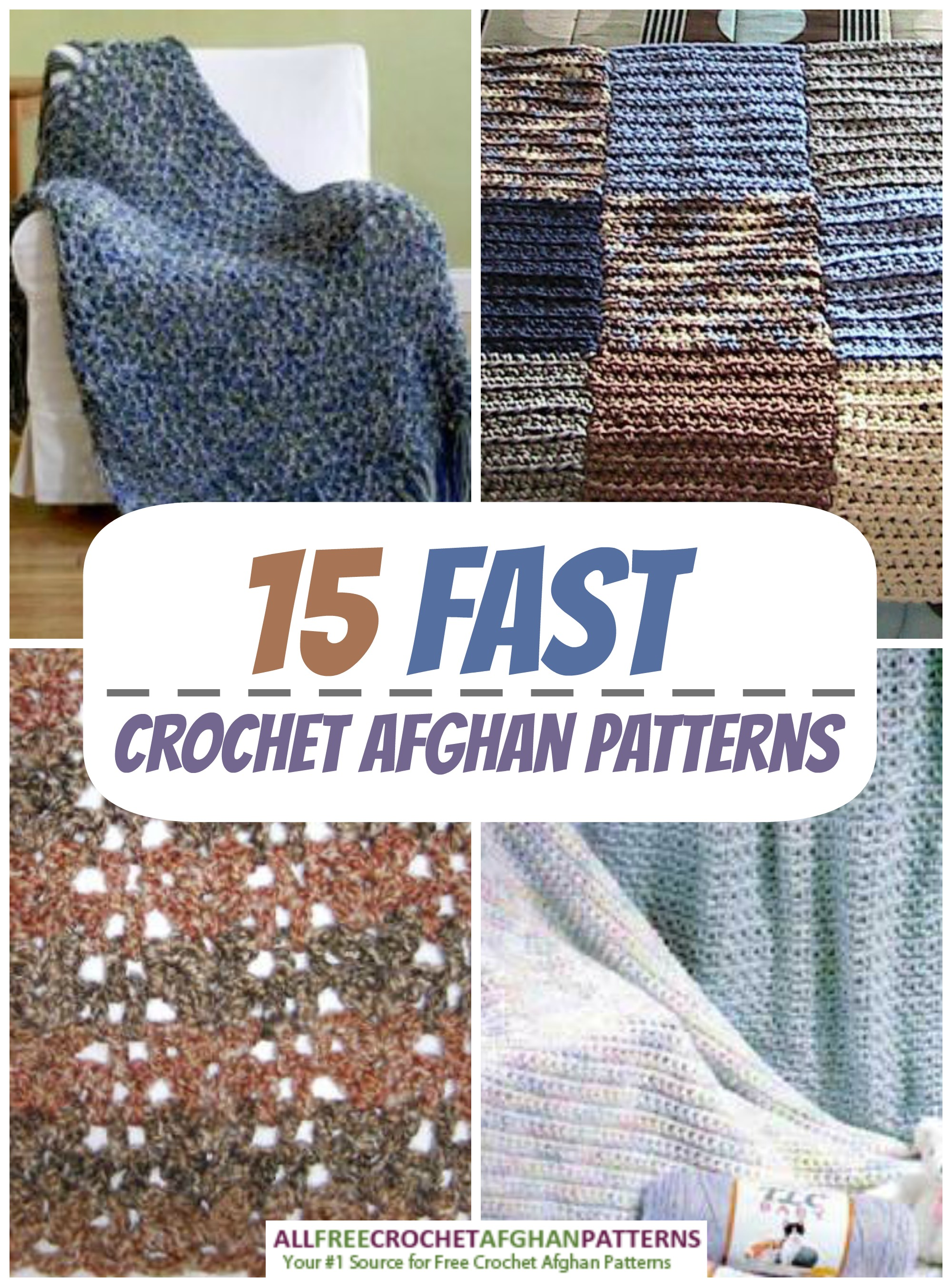 Amazingly Fast Crochet Afghan Patterns - Stitch and Unwind