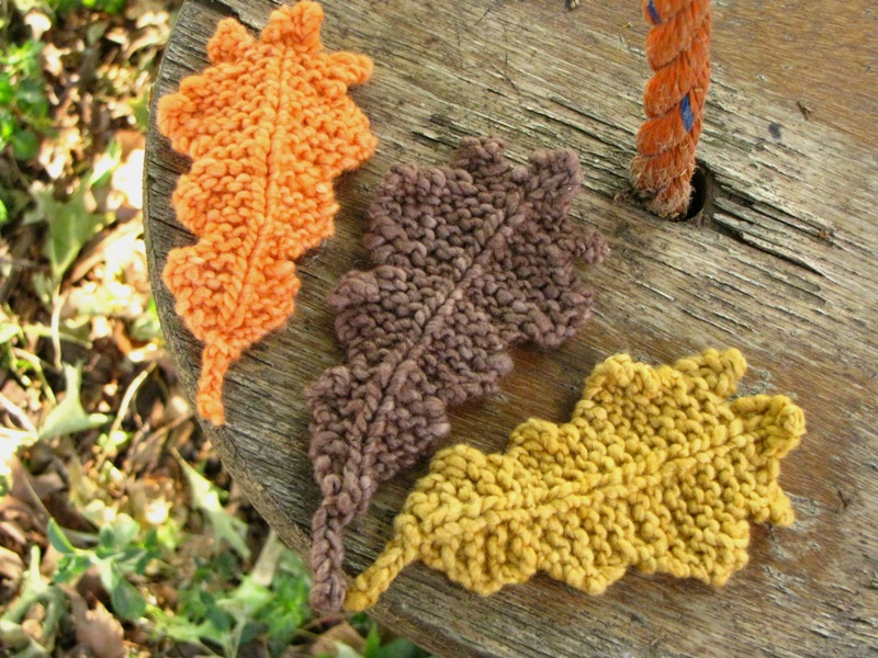 Autumn Leaves Fall In Love With Knit Crochet Patterns Stitch
