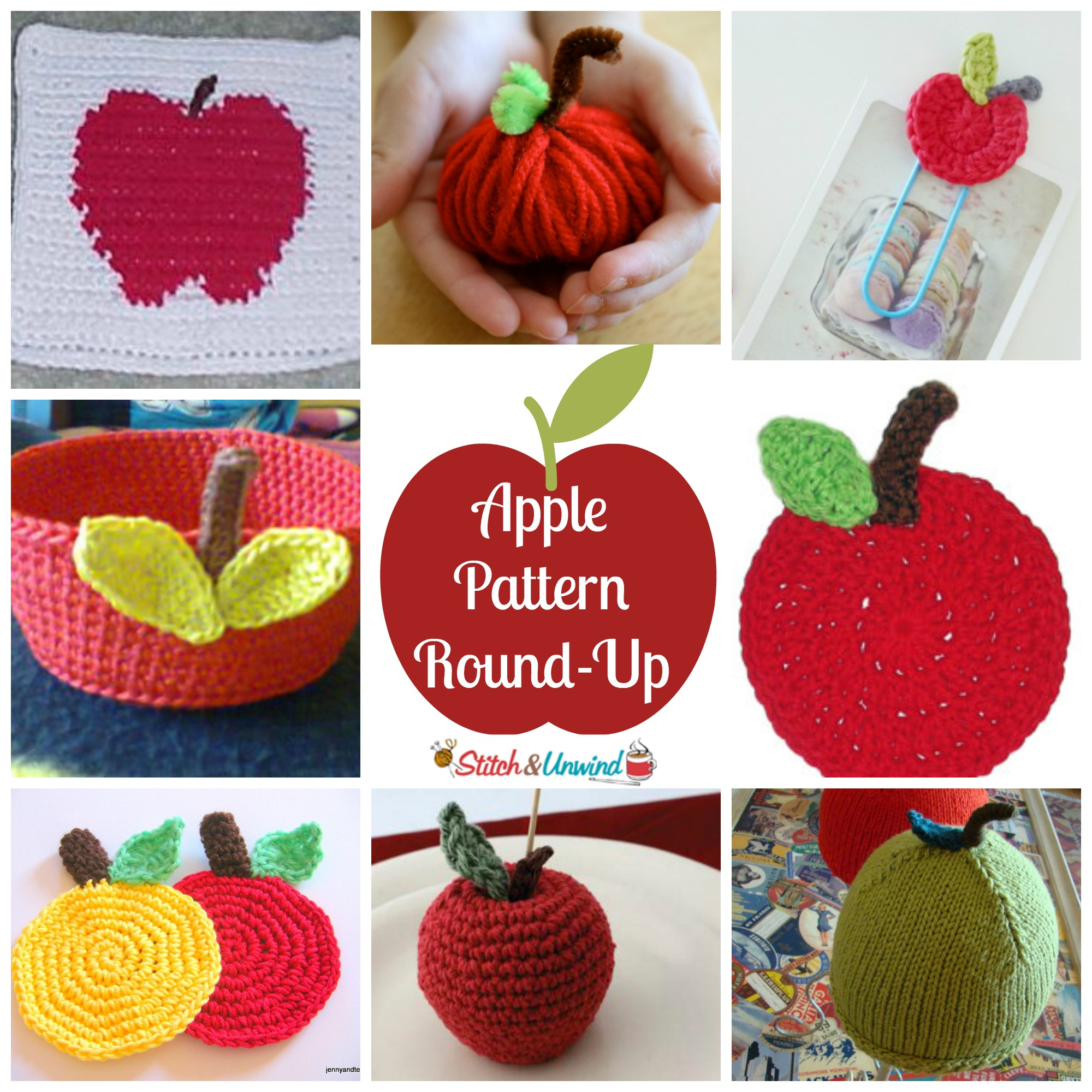 How About Them Apples? Crochet & Knitting Pattern Round-Up - Stitch ...