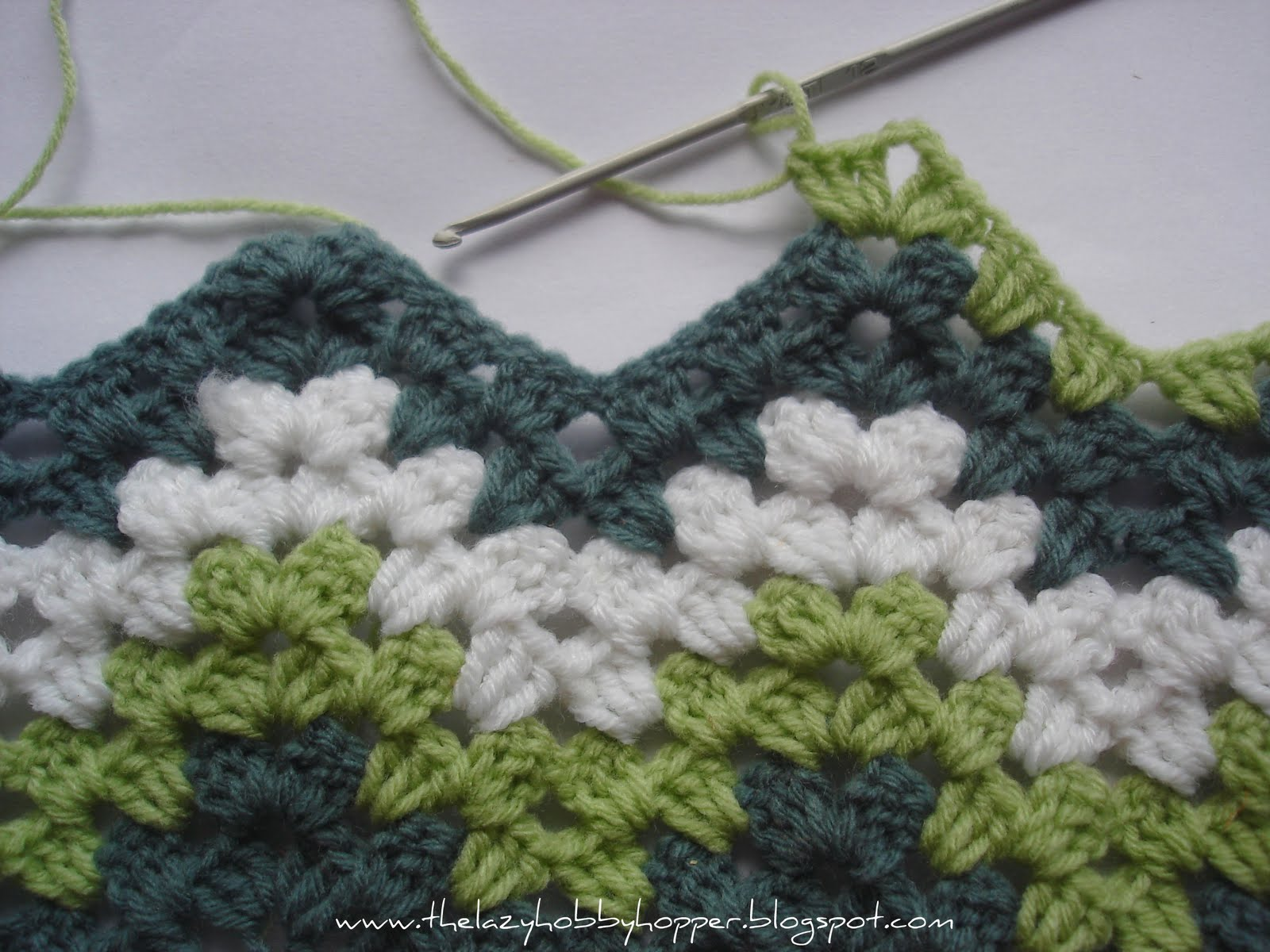 Granny Ripple Patterns: Two Looks, One Afghan - Stitch and Unwind
