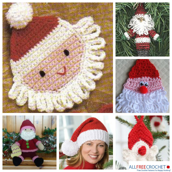 19 Free Amigurumi Christmas Santa Crochet Patterns | Crochet xmas ... | 600x600