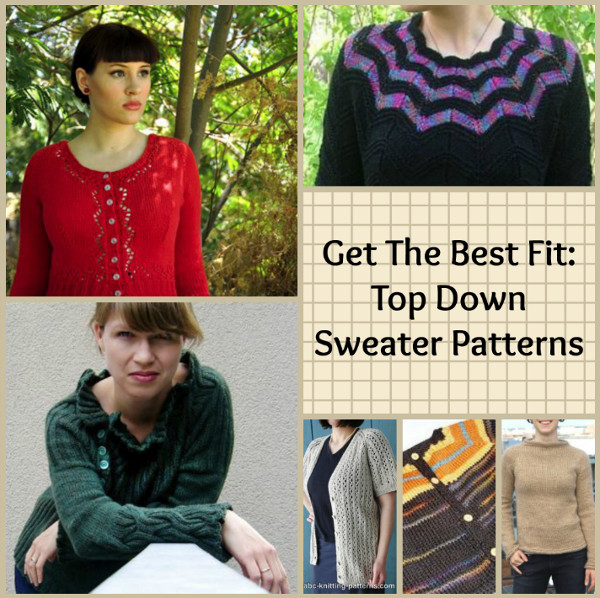 Get The Best Fit Top Down Sweater Patterns Stitch And Unwind